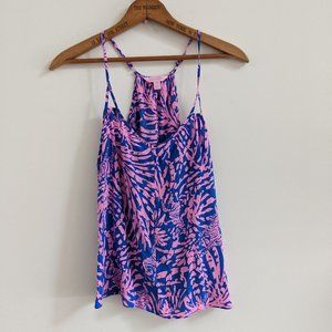 Lilly Pulitzer Rollin In the Grass Zebra Rory Tank